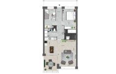 Utrecht Rijnvliet Appartementen plattegrond A